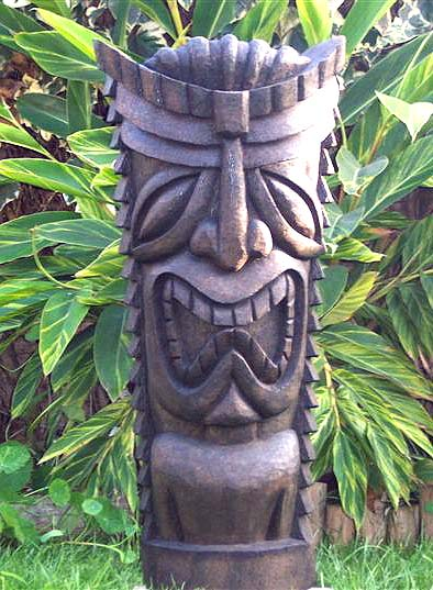Tiki Madness - Palm Wood Tikis Recently Sold