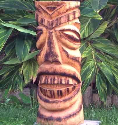 Tiki Madness Palm Wood Tikis Recently Sold